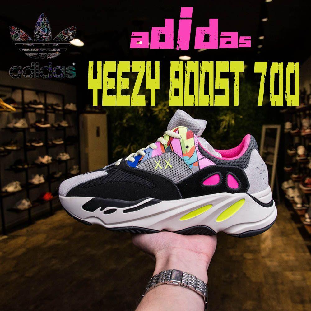 huge discount e979e 2cbd5 Originals Kanye West x Adidas Yeezy Runner Boost 700 V2 Static Inertia Wave  3M MEN/WOMEN SNEAKERS SPORTS RUNNING DAD SHOES 36-45