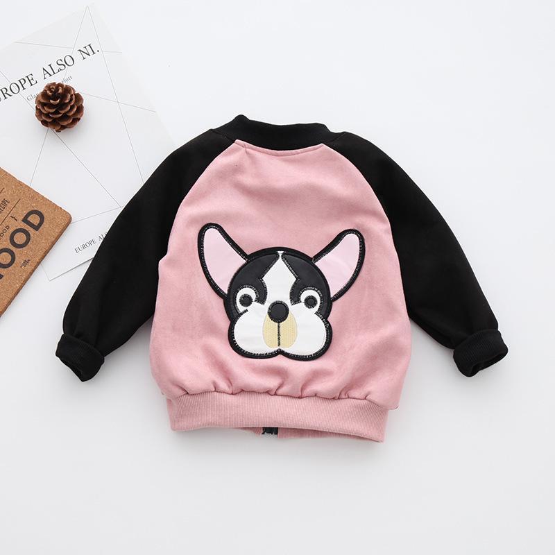 bbfe7aab00fbc Acheter Vêtements Pour Enfants Parents Enfants 2019 Automne Enfant Enfant  Vêtements De Dessus Zipper Pull Printemps Filles Casual Jacket De  37.23 Du  ...