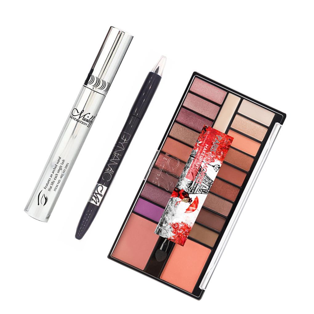 MENOW Long Lasting Eye Makeup Set Eyeshadow Palette Eyeliner Mascara Cosmetics Kohl Eyeliner Lakme Eyeliner From Yangti, $23.6| DHgate.Com