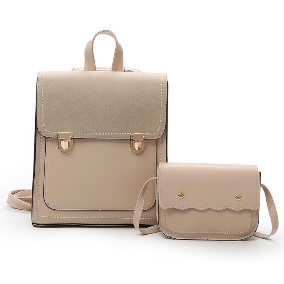 46dc284ee1 2019 New Fashion Women Backpack High Quality Pu Leather Backpacks For  Teenage Girls Female School Bagpack Shoulder Bag Mochila Mochilas Jansport  School ...