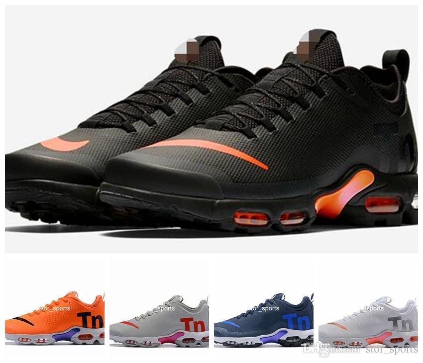 pretty nice 07641 9ec3d Acheter 2018 Nouveau Maxtn Mercurial Plus TN Ultra SE Chaussures De Course Pour  Hommes Femmes, Chaussures Chaussures De Sport Athlétique Baskets Eur 36 46  ...