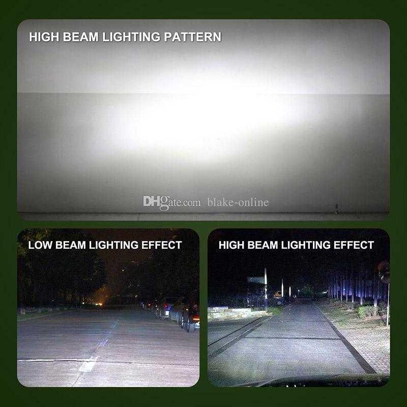 Neueste S2 Auto Autoscheinwerfer LED-Scheinwerfer H4 H11 H7 H13 9004 9005 9006 8000LM LED-Scheinwerfer