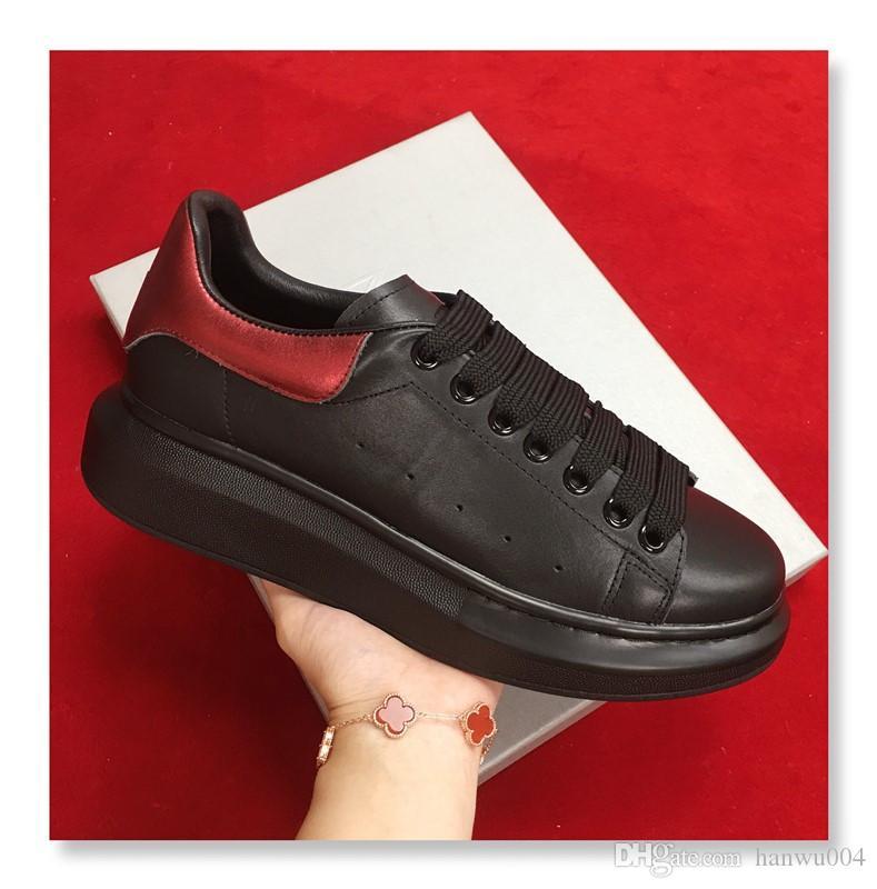 a997f34b7ec Black White Platform Classic Casual Shoes Casual Sports ...