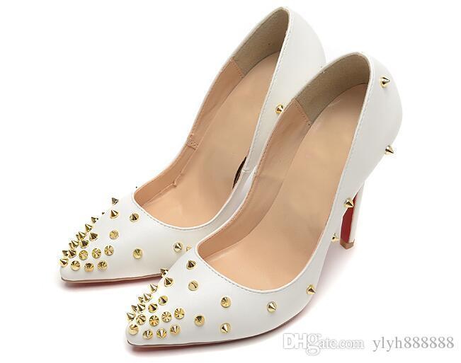0e6872706bad0 2019 NEW HOT TOP Designer Luxury Designer Women Shoes Red Bottoms Pumps  High Heels Black Nude Pointed Toe Red Bottom Dress Wedding Shoes Shoes For  Men ...