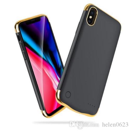 purchase cheap 39c9e 43b34 Best Slim Battery Charger Case for iPhone 6 6s 7 8 Plus X XS Max Slim  External Power Bank Charging Cover Backup Charger For iPhone XR Cases