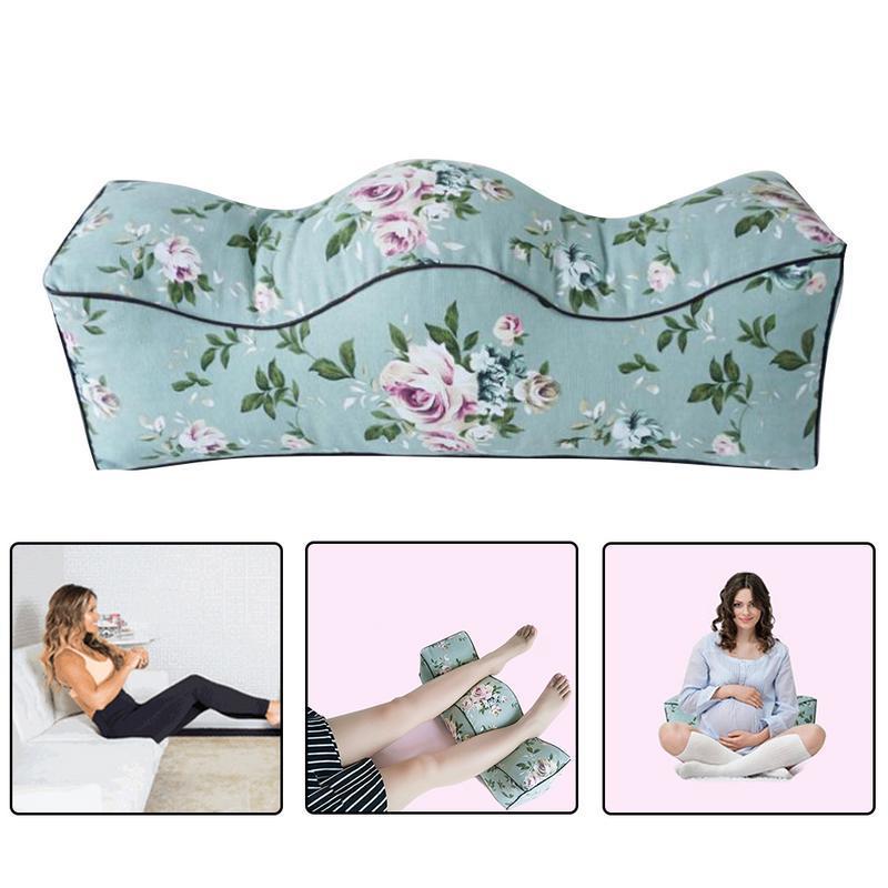 1d2e6c135 Compre Almohadas Para Los Pies De Las Mujeres Embarazadas Almohadas De La  Cama Del Pie Que Se Hinchan Para La Almohada De La Rodilla De La Espuma De  La ...