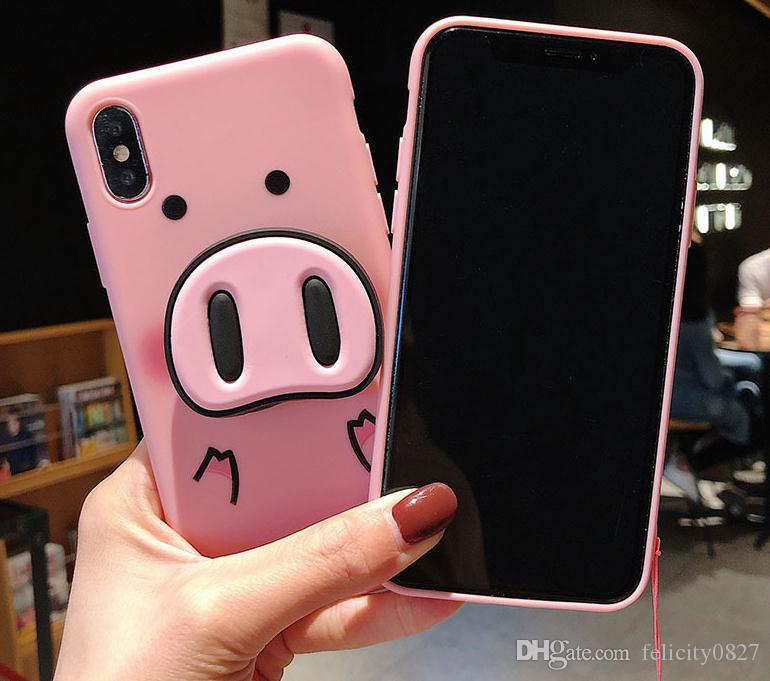 iphone xs case pig