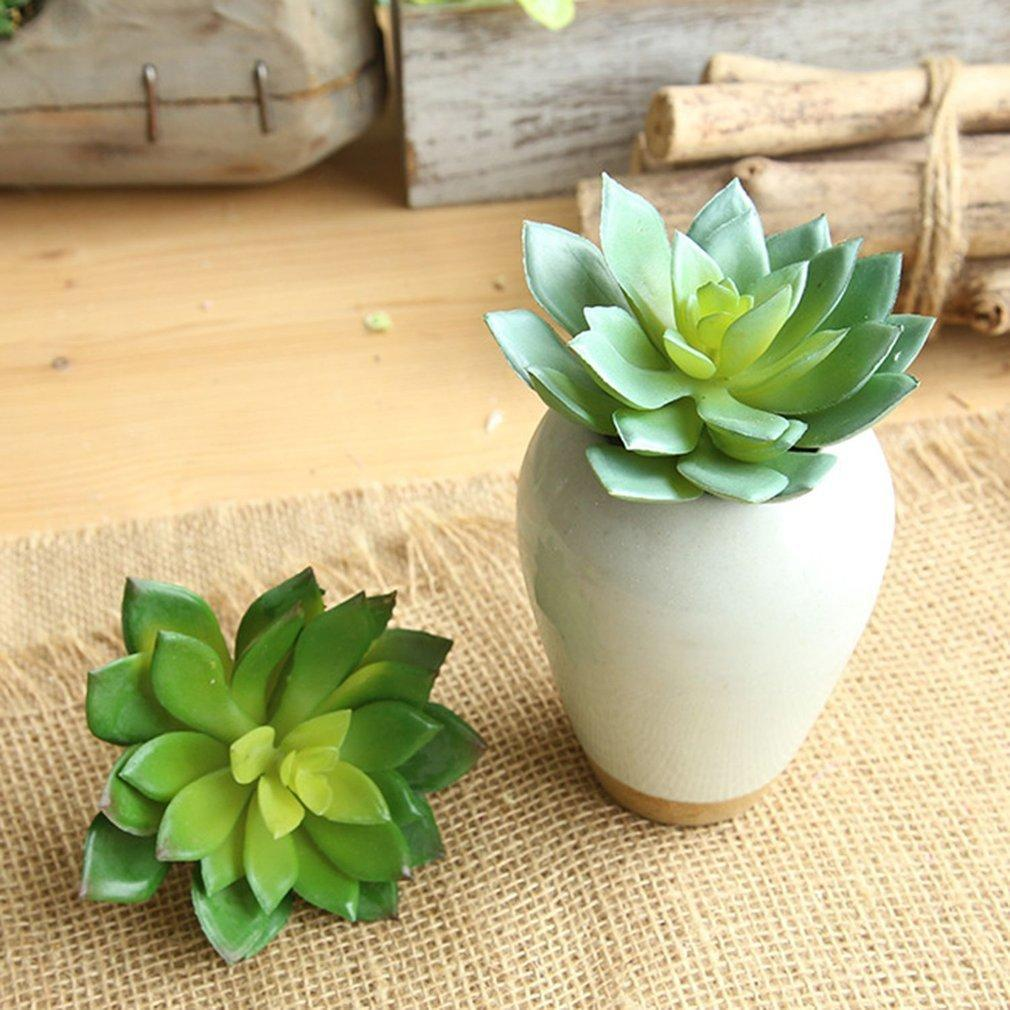 2019 Artificial Succulents Plant Garden Miniature Fake