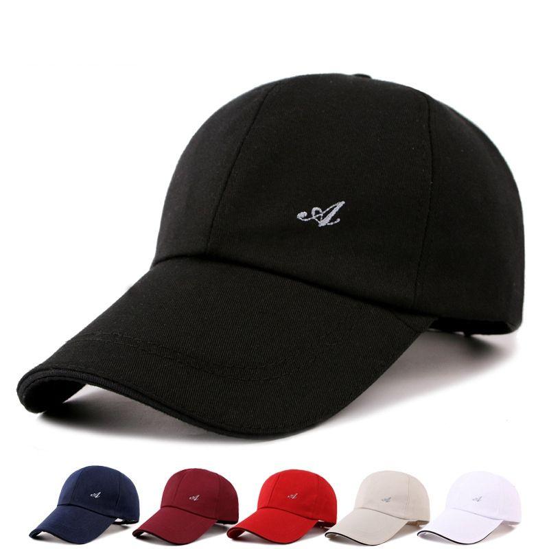 05d54d01fa3 Men s Adjustable Baseball Cap Peaked Cap Casual Leisure Hats Fashion ...