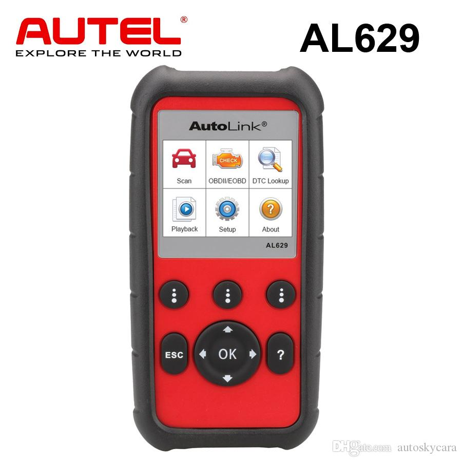 Autel AutoLink AL629 Engine Transmission ABS/SRS OBDII Scanner Professional Auto Scan Tool Car Code Reader