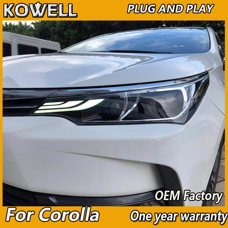 2019 Wholesale Car Styling For Toyota Corolla Headlights 2018 2019
