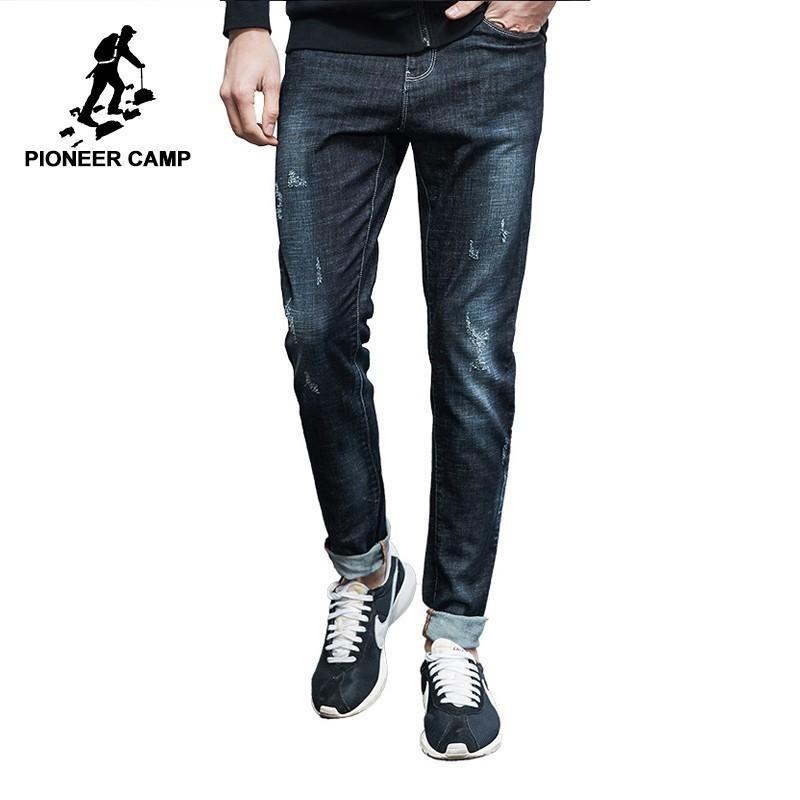 f37bcf0c5 Compre Pioneer Camp New Jeans Casual Homens Roupas De Marca De Moda Sólida  Denim Calças Masculinas Slim Fit Denim Calças De Xiatian8, $79.44 |  Pt.Dhgate.Com
