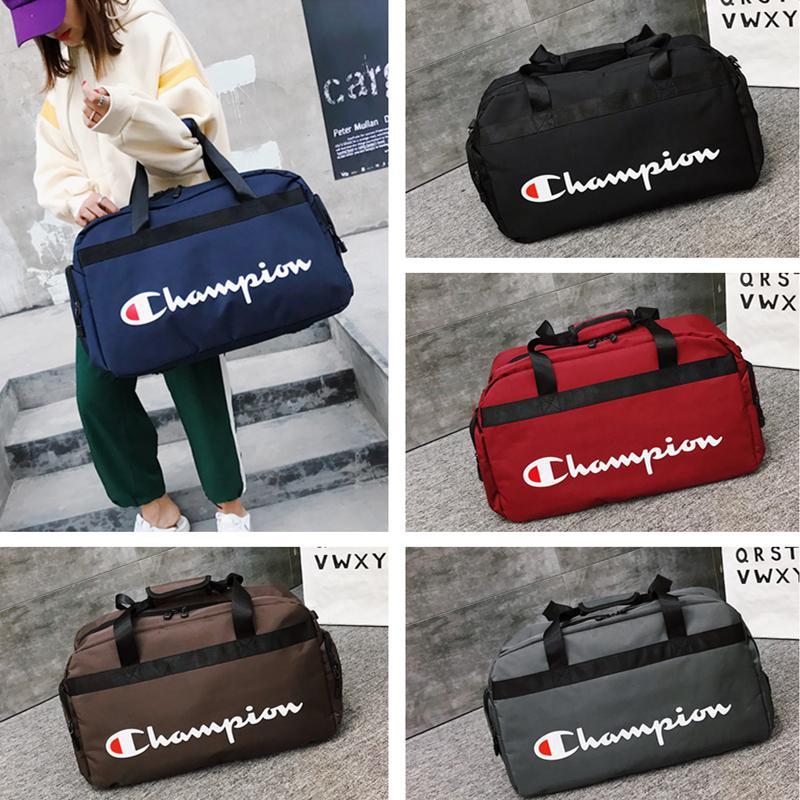 d7e569b29548 Champion Letters Duffle Bag Brand Desinger Travel Bags Mens Womens Carry On  Luggage Shoulder Bag High Capacity Sport Handbag C51302