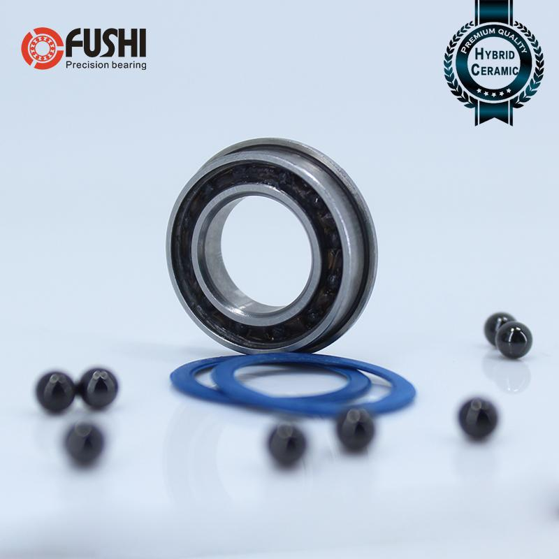 F6801 Hybrid Ceramic Bearing 12*21*5 mm ABEC-1 ( 1 PC) Industry Motor Spindle F6801HC Hybrids Si3N4 Ball Bearings 3NC F6801RS