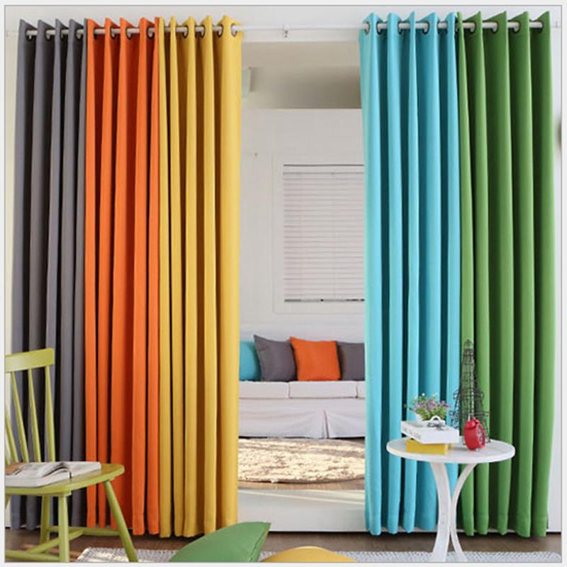 (Color of 16) Home Fashion Window Treatment Thermal Insulated Solid Grommet Blackout Curtains Panel Modern Drapes for Bedroom