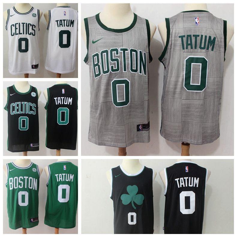 d0c310314 ... promo code for 2019 new mens 0 jayson tatum boston celtics basketball  jerseys stitched 2018 celtics