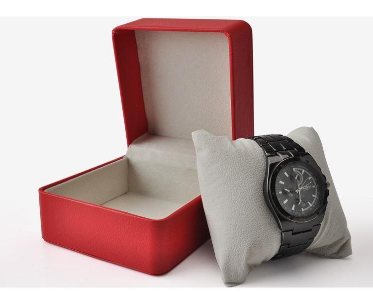 boxs Fashion PU Leather Wrist Watch Box Jewelry Case Jewellery Display Storage Packaging Case Organizer Gift Boxes Boxes