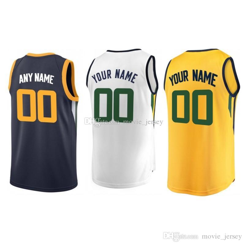 2019 Custom 2019 Basketball Jersey Utah Grayson Derrick Allen Favors Dante  Ekpe Exum Udoh Donovan Rudy Mitchell Gobert Men Jerseys From Movie jersey 7679d06b4