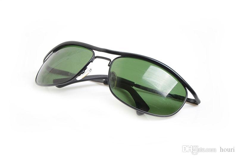 Neue 8012 metallrahmen sonnenbrillen herren sonnenbrillen glaslinse brillen markendesigner frauen sonnenbrillen outdoor-sportarten sonnenbrille mit fällen