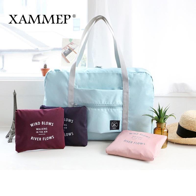 be9baec7d9 Storage Bags Travel Bags Storage Men Women Clothing Organizer Portable Polyester  Large Travel Duffle Waterproof Xammep Toiletry Bags Best Gym Bags From ...