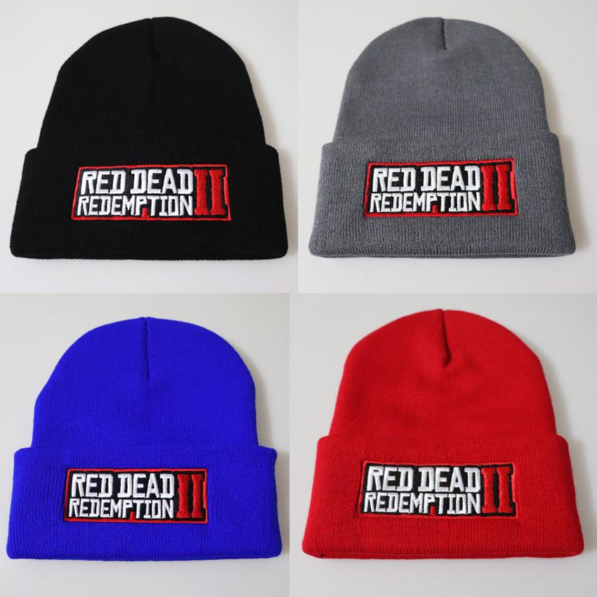 2019 New Sport Winter Red Dead Redemption 2 Game Hat Men Cap Beanie Knitted  Hip Hop Winter Hats Teenager Fashion Warms Bonnet LE181 From Kids top 8657f76c1fb