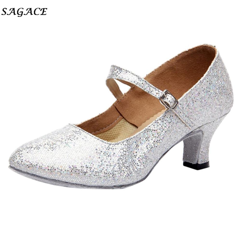 770c933e2029e9 2019 Dress SAGACE Shoes 2018 Woman Zapatos Mujer Summer New Pointed Toe  Ballroom Heels Shoes Lady Buckle Strap Thin High Heels Party Shoes Mens  Shoes Online ...