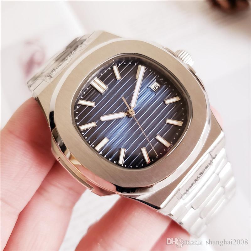 9f846f8fa Movimiento mecánico automático grabado reloj para hombre. Relojes de hombre  con esfera azul y espalda transparente de acero inoxidable