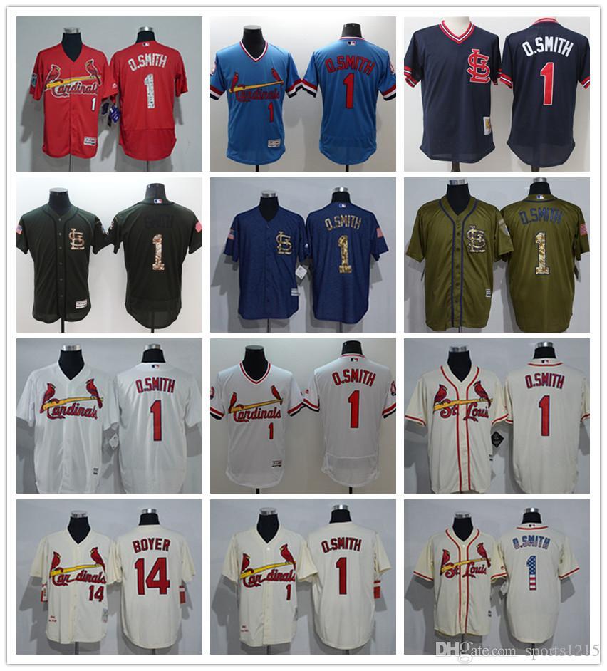 Designer Fashion E52c4 08f8e Custom Jerseys St Louis Cardinals