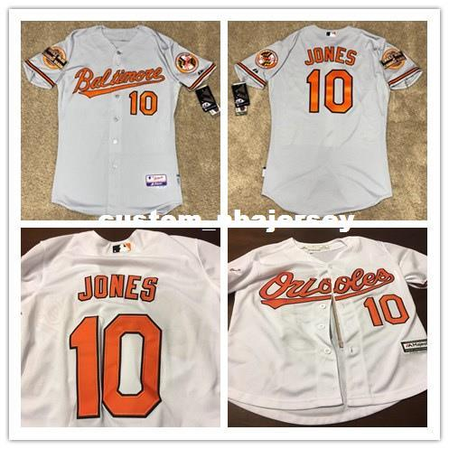 cheap for discount 3562e 04998 Cheap Custom Adam Jones Cool Base jerseys 40th 60th anniversary Stitched  Retro Mens jerseys Customize any name number XS-5XL