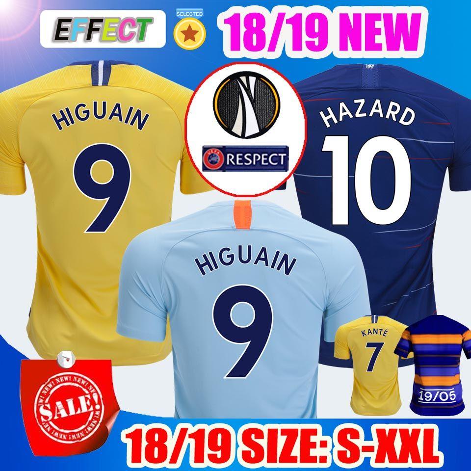 Compre Chelsea Tailândia AAA HAZARD JORGINHO Camisas De Futebol Soccer  Jerseys 2018 2019 MORATA GIROUD FABREGAS 18 19 KANTE Willian CAHILL DAVID  LUIZ ... c6d3a291d771f
