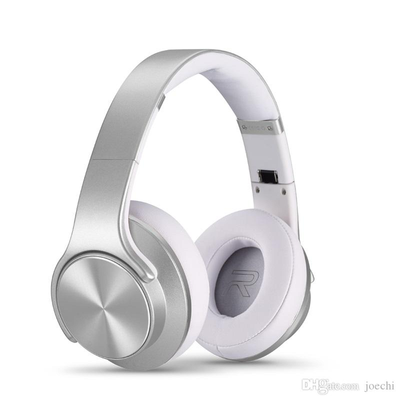 SODO MH5 Bluetooth Wireless Headphone &Speaker With Card FM earphone head-mounted Foldseable Headt For iphone Android
