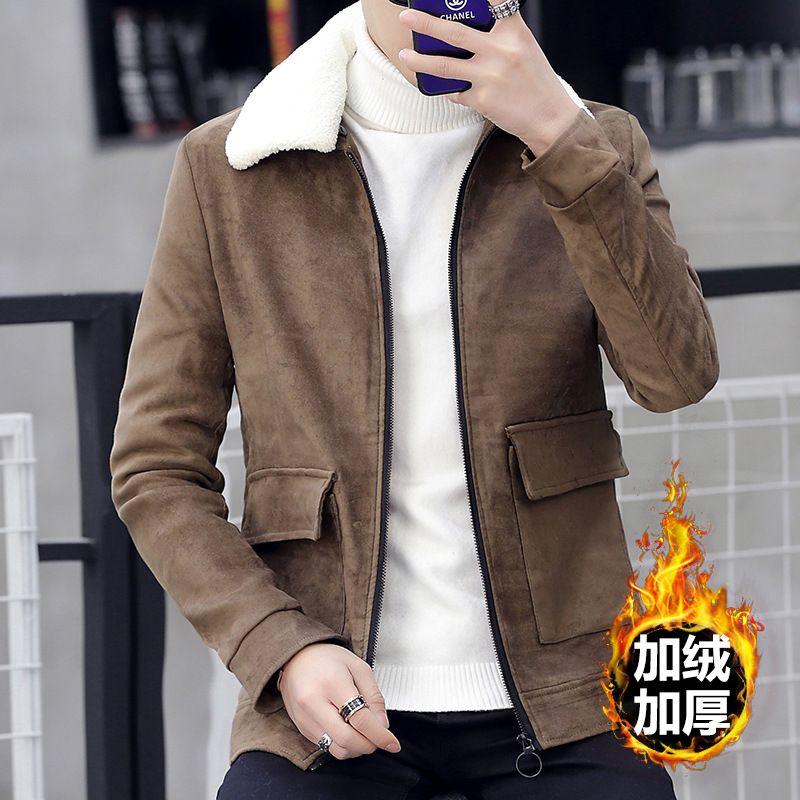 d9c8925c568 Retro Winter Jacket Men Wool Fleece Thickened Warm Zipper Big Pocket  Clothes Mens Coats And Jackets Trench Corduroy Jacket Men Coats From  Ingridea