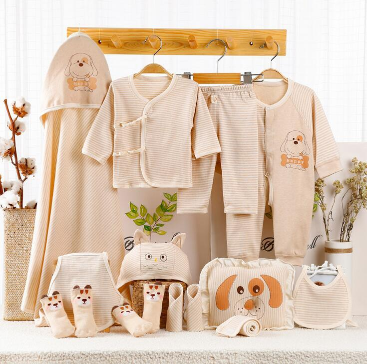 8f66b62e30bb8 2019 NEW 0 6Month Newborn Baby Clothes Soft Cotton Toddler Baby Boy Girl  Clothes Set Infant Clothing New Born Gift Sets SJDDY From Deve