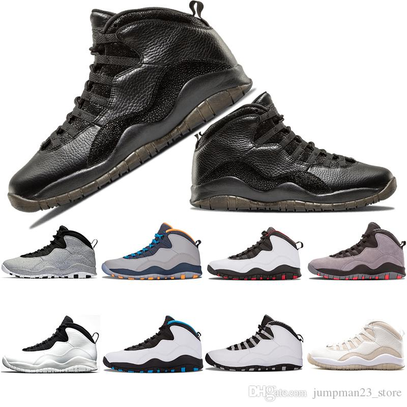 a024e74ab04 10s Basketball Shoes 10 X Men Black venom tinker 10 Westbrook Class of 2006  cement chicago stealth grey infrared I'm back Sports Sneakers