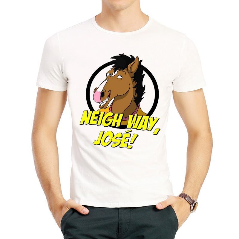 3ca53ddd Bojack Horseman T Shirt Short Sleeve Teenages White Color Horseman Logo T  Shirt Top Tees Tshirt High Way Jose Horseman T Shirt Artistic T Shirts  Thirts From ...