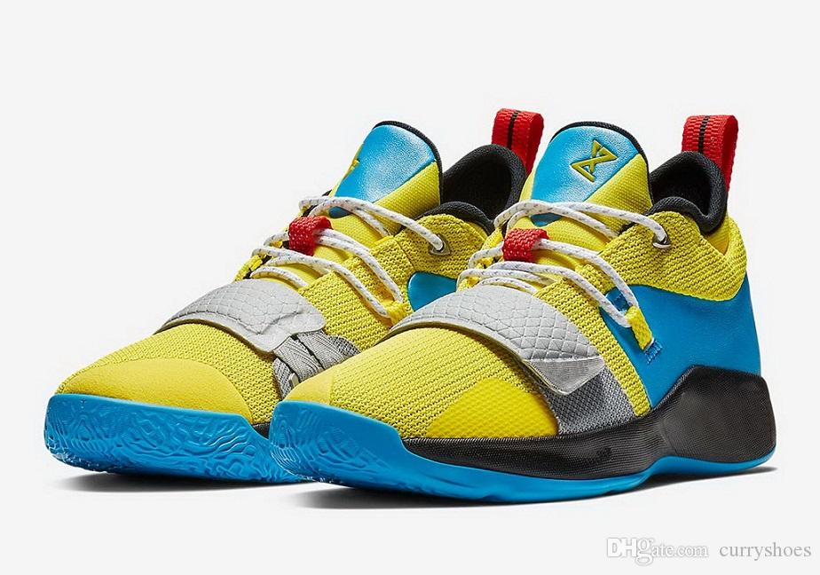 reputable site 324a5 ce875 Buy pg 2.5 Wolverine shoes sales free shipping 2019 Paul George Basketball  shoes store With Box US7-US12