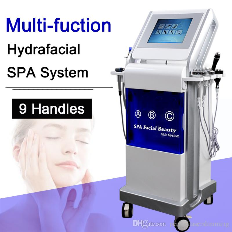 2020 Hydrafacial peeling face machine led photon therapy microdermabrasion Deep skin cleansing machine water dermabrasion skin care