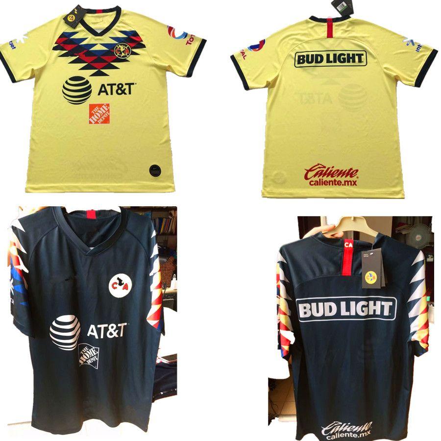 9b8e4a9b3 2019 2020 LIGA MX Club America Soccer Jerseys Home Away Orange 19 20  O.PERALTA I.RENATO C.DOMINGUEZ MATHEUS Mexico Football Shirts Maillots From  Jerseys998, ...