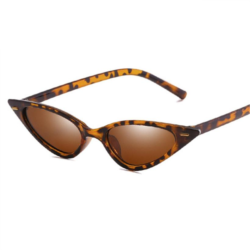 a0271537c8e Women Vintage Cat Eye Sunglasses Brand Designer Triangle Ladies ...