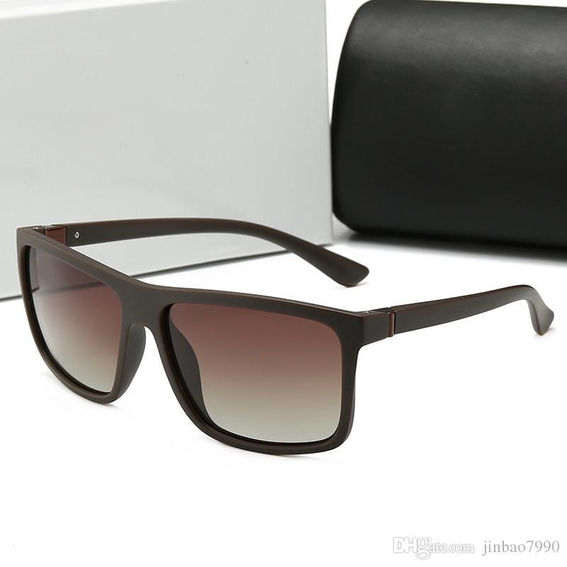 96df6fec94 Compre Calidad Moda Vintage Conducción Gafas De Sol Aviadores Hombres  Deportes Diseñador Lujo Famoso Hombres Gafas De Sol Polarizadas Gafas De Sol  Con Caja ...