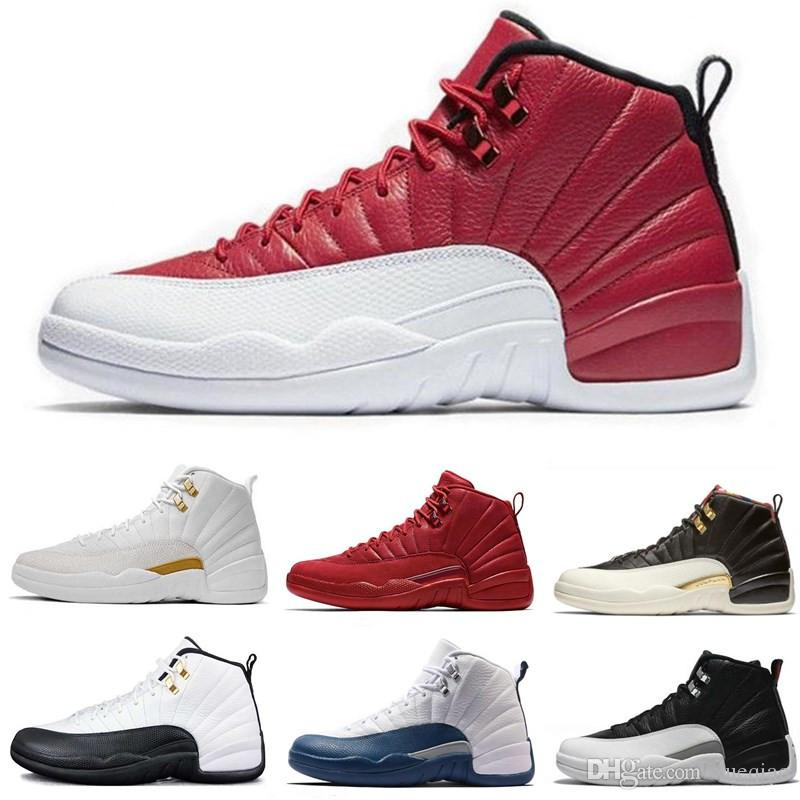 d071844b4e1834 Top 12s Men Basketball Shoes 12 Wntr PRM OVO The Master Bordeaux Flu Game  Taxi Men Designer Sneakers Leather Women Sports Shoes 7 13 Baseball Shoes  ...