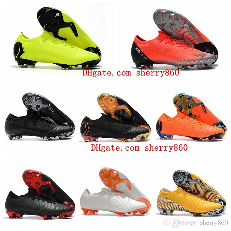 e848545e253 2019 2018 Top Quality Mens Women Soccer Cleats MERCURIAL SUPERFLY XII Elite  FG Kids Soccer Shoes Boys Football Boots Cheap Low Top From Sherry860
