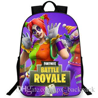 Peekaboo backpack Hide clown woman pack day pack Battle royale school bag  packsack Photo rucksack Sport schoolbag Outdoor daypack