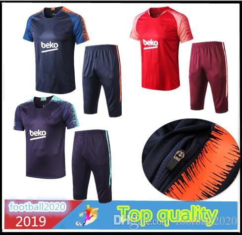 rechercher les plus récents couleurs harmonieuses qualité parfaite 2019 new SUAREZ soccer survetement short sleeves 3/4 pants tracksuit  Athletic Outdoor Apparel football shirt kit COUTINHO COUTINHO Leisure