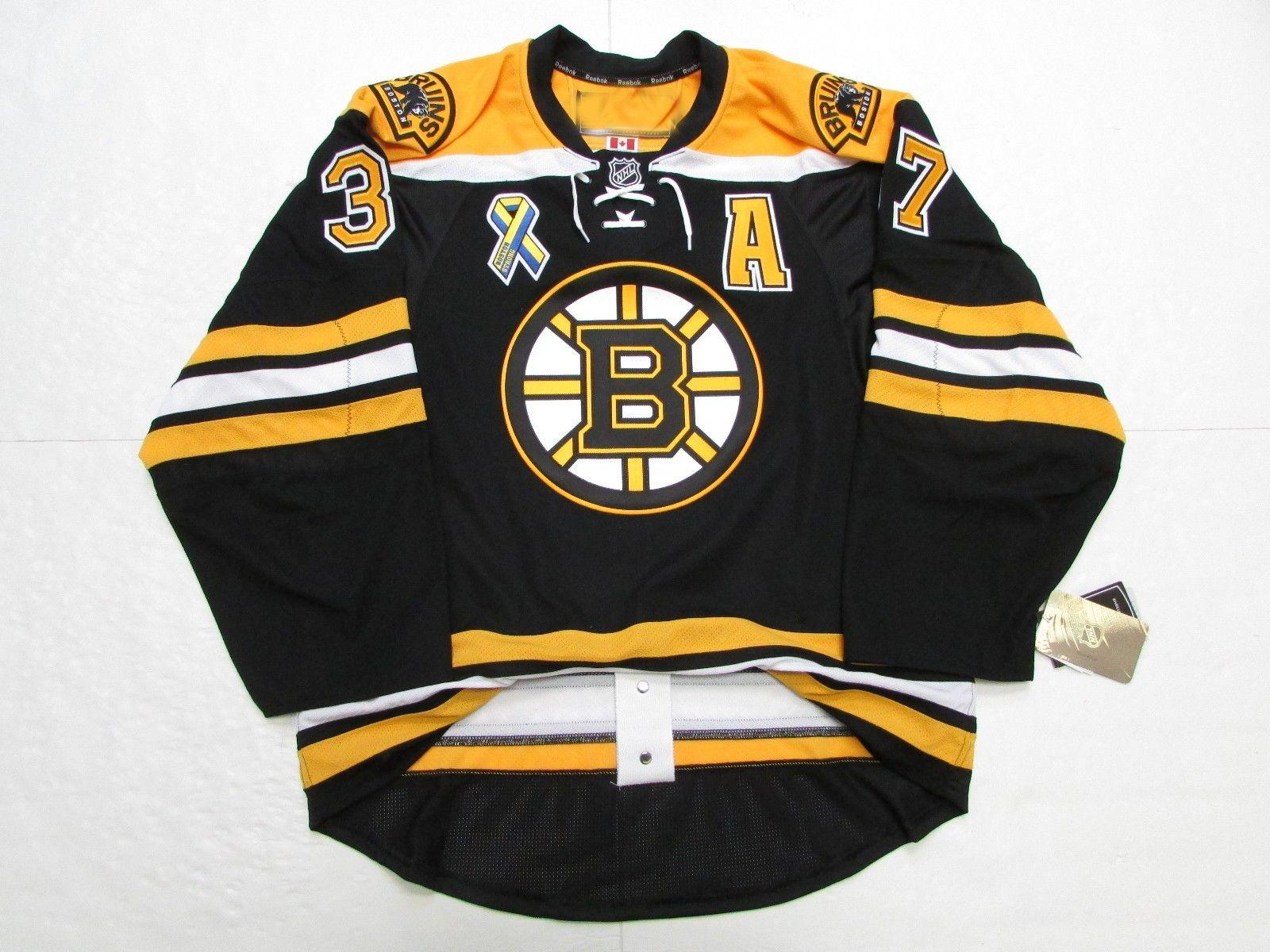 2019 Cheap Custom Patrice Bergeron BOSTON BRUINS HOME BOSTON STRONG ... ef81fb047