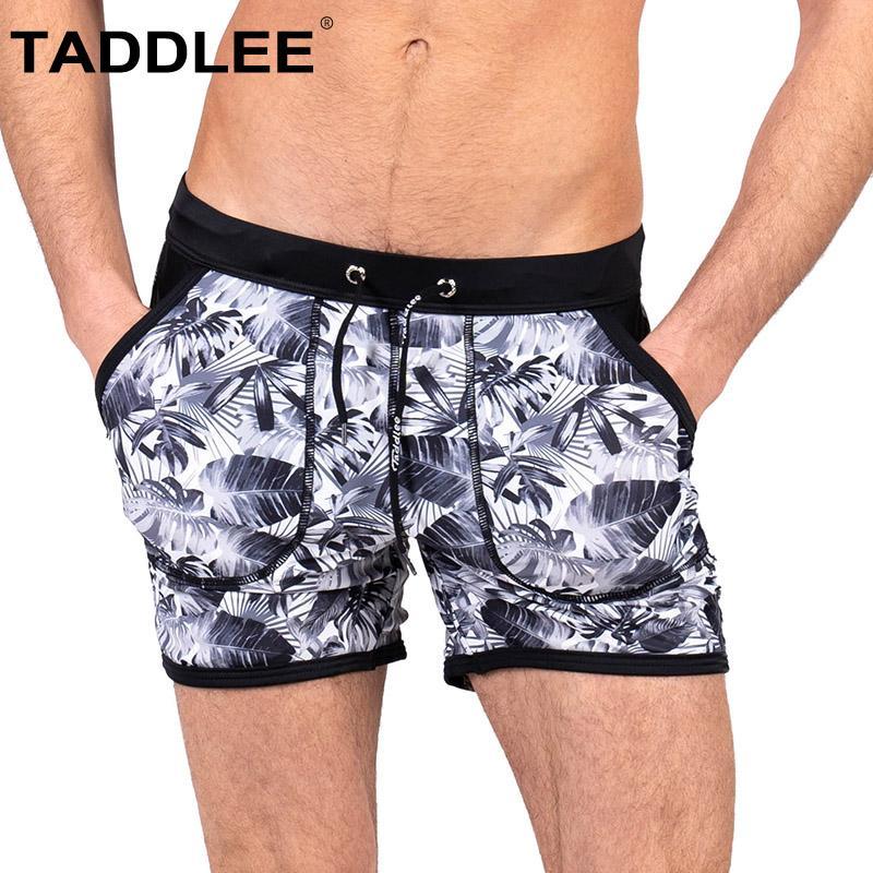 a1efab92f9bf6 Taddlee Brand Men's Swimwear Swimsuits Swim Boxer Briefs Bikini Trunks  Short Beach Board Shorts Pocket Surf Bathing Suits Gay