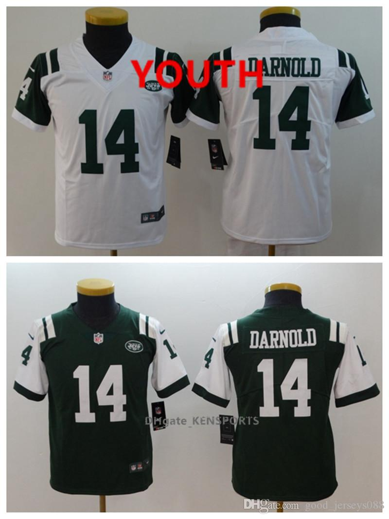 premium selection 5dd3b 084e6 Youth New York Football Jets Jersey 14 Sam Darnold Color Rush All Stitching  Jerseys