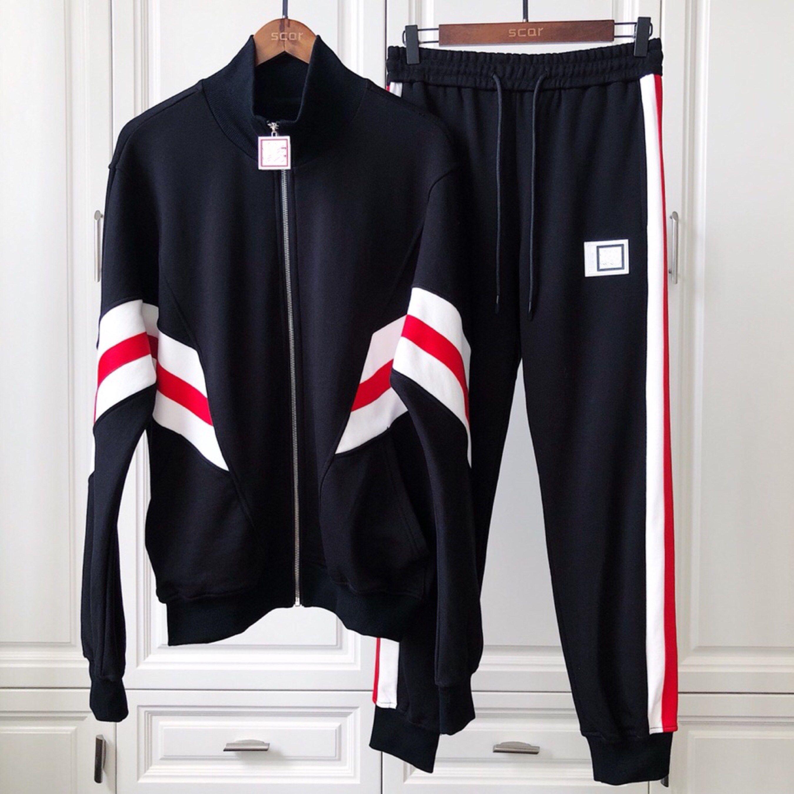 aec61c8770ef 2019 Mens Designer Tracksuits Luxury Sweat Suits 2019 New Spring ...