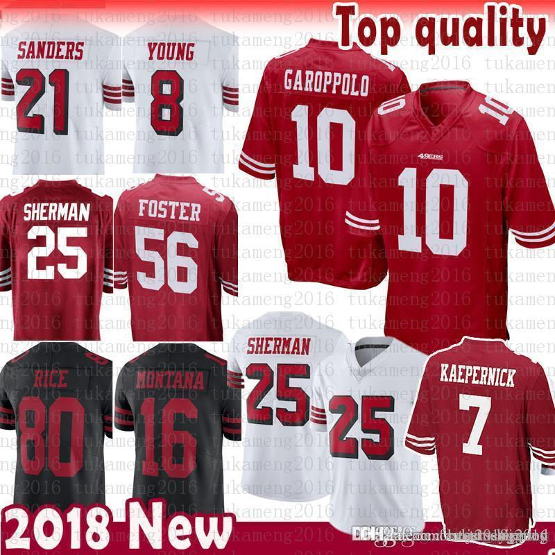 Outerstuff Richard Sherman San Francisco 49ers NFL Youth Red Home Mid-Tier Jersey