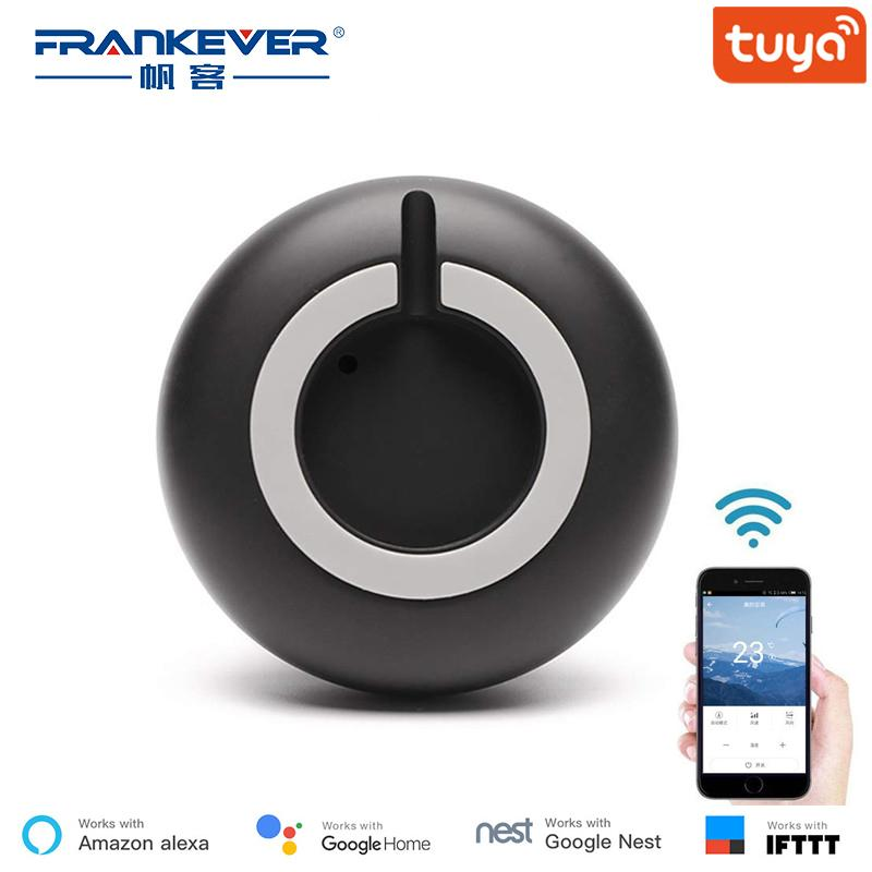 Frankever Mini Universal Smart Ir Voice Remote Control Ac Tv Infrared  Equipment Work With Alexa Google Home Assistant J190523